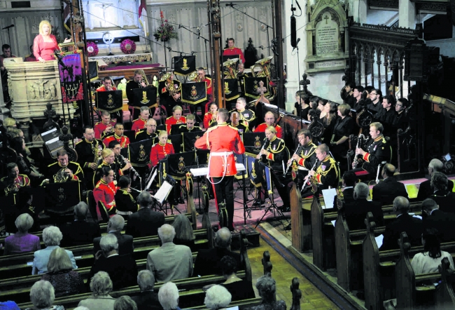 Windsor Festival; Band of the Household Cavalry; attended by HRH The Earl of Wessex
