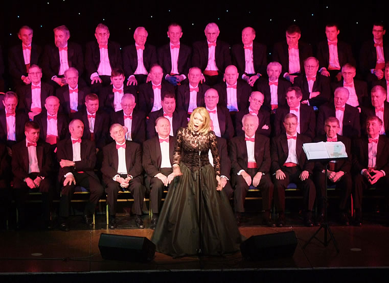 Fron Male Voice Choir Concert: Wrexham FC Supporters Trust Feb 2012