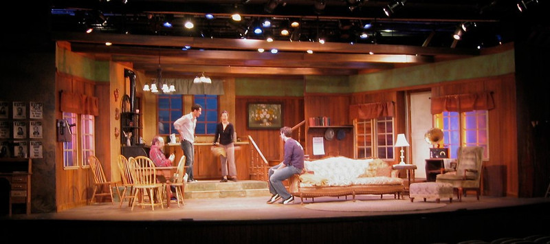 The Rainmaker<br /> Directed by Christopher Webb<br /> Scene Design by Jenna McFarland Lord <br /> Scenic Artist Lisa Pegnato<br /> Foothills Theater  2008