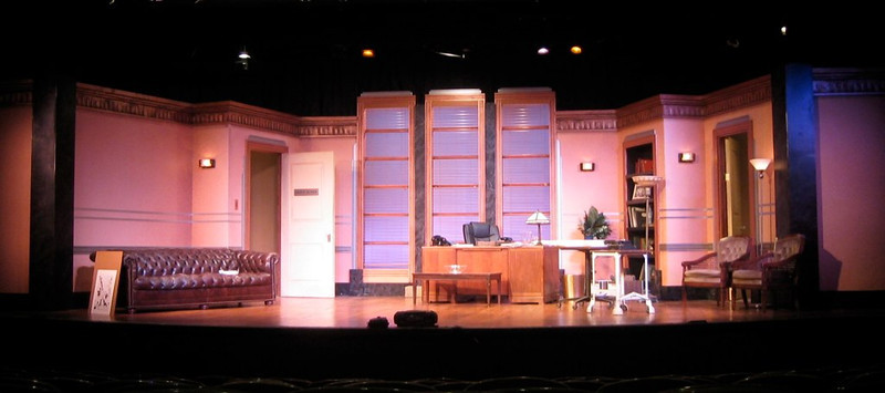 Moonlight and Magnolias<br /> Directed by Russell Garrett<br /> Scene Design by Anthony Phelps<br /> Scenic Artist Lisa Pegnato<br /> Foothills Theater 2008