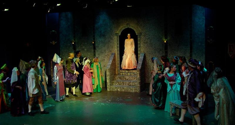 Cinderella, The Concord Players 2006<br /> Set design: Doug Cooper