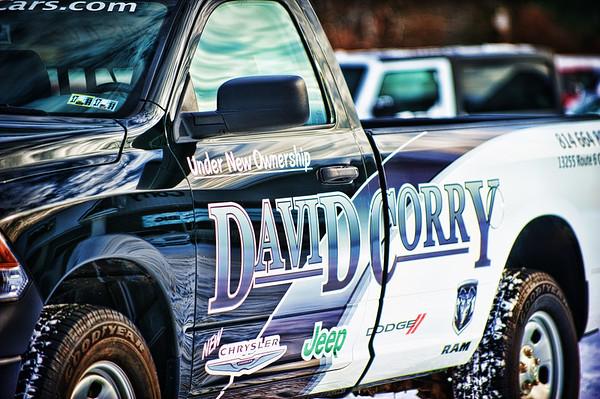 David Corry Cars