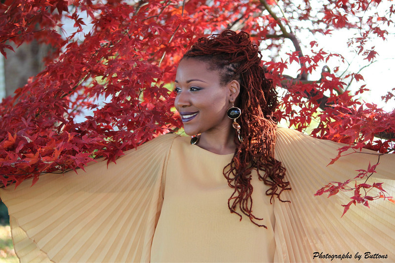 My Autumn Breeze, Nature and People are the Best Combo.  Photographer Buttons