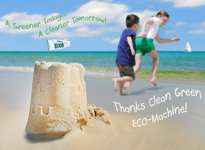 ECUA art contest clean green eco-machine garbage sanitation escambia florida cheryl casey photography award winner
