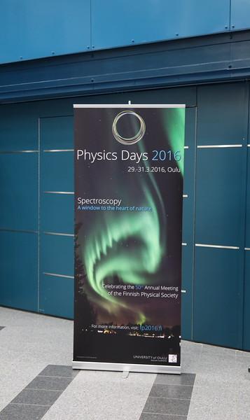 Physics Days (Oulu) 2016-03-30