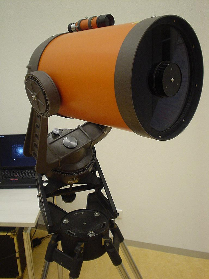 Astronomy Club and a telescope