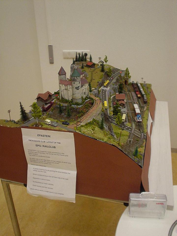 Rail Club for model railroads