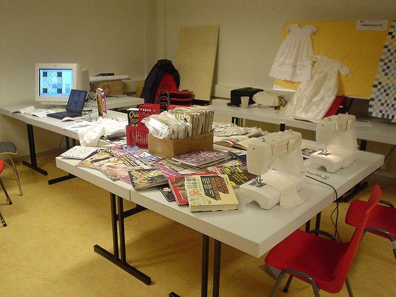 Fibercraft Club, sewing, knitting, etc.