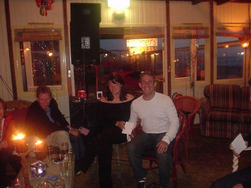 Mathieu, Mirella and I