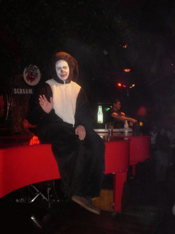 CrayzShot on the piano