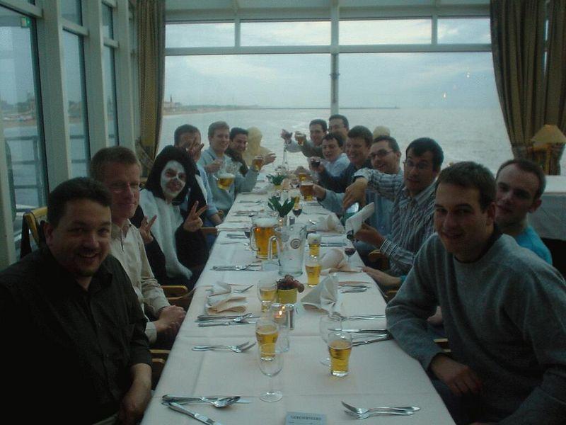 Dinner on the pier in Scheveningen