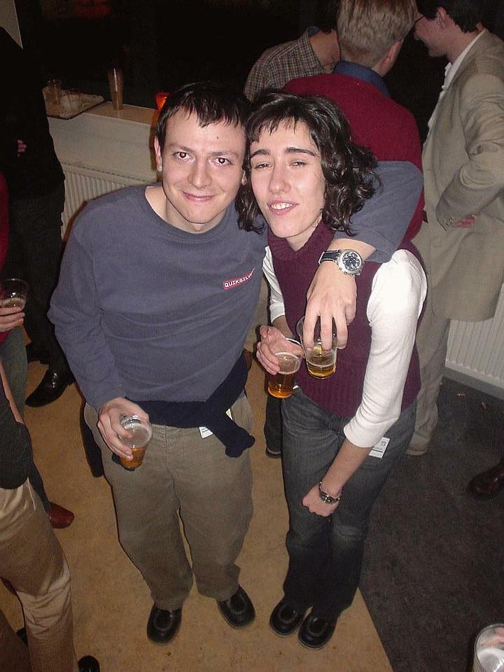Jaime and girlfriend