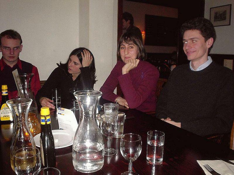Alexandre, Victoria, Lisa and Olivier