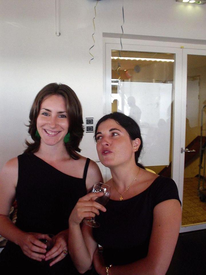 Laura and Victoria (L)