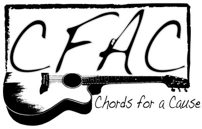 These were logo designs I submitted to the Chords for a Cause organizers