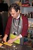 Peter maakt de ravioli's met langoustinestaarten