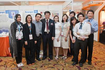 Haslinda Kadir, Ida Baharom, Thomas Lo, Dr Ng Soo Chin, Geraldine, He Saw Lean, Na, Stella Tan, Ter Yow Wei and Gary Chin - Roche