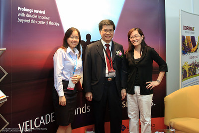 Ms Sherry Wong, Dr Ng Soo Chin and Ms Sally Ng - JnJ