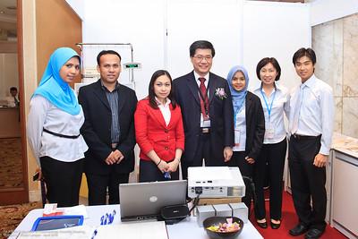 Ayzan Halim, Fakaruddin Majid, Aubrey Juat, Dr Ng, Shahira Mohd Sharif, Shirley Ooi, HS Lim