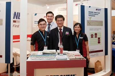 Shaun Lau, Trevor Cheng, Dr Ng, Connie Tan - Astra Zeneca