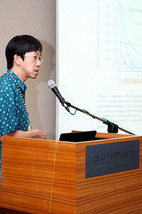 Dr Liu Te Chih of National University Hospital Singapore talking on role of Flow Cytometry in detecting MRD in Acute Leukaemia