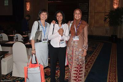 Dr Goh Ai Sim, Dr Padmini Menon and Dr Jameela Sathar