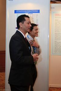 Datuk Noor Hisham and Dato' Chang