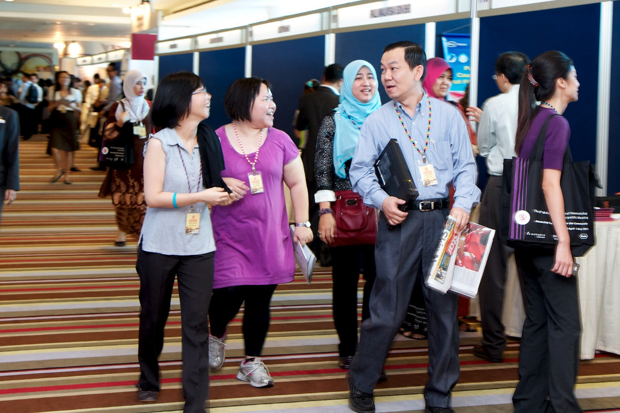 From left; Ms MC Ong, Ms WM Ang, Dr Ahlam Naila Kori and Mr WF Lam.