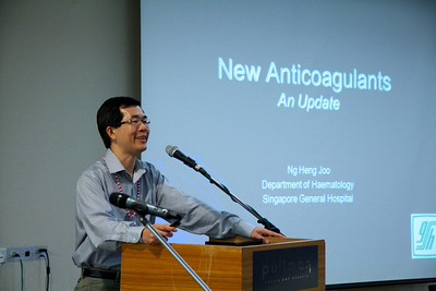 Dr Ng Heng Joo on updates of new anticoagulants