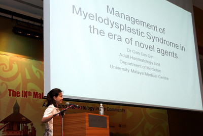A/P Gan Gin Gin on the management of MDS in the era of novel agents