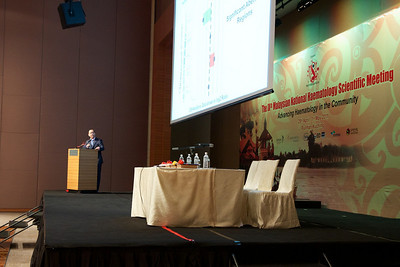 Planery 3 was delivered by Assoc Prof Chng Wee Joo. His topic was Advances of Cancer Genetics and Genomics.
