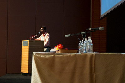Dr Vijaya Sangkar spoke about Lymphoma in HIV patients.