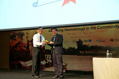The final speaker of the conference was Prof SK Cheong. He spoke on non-haematopoietic stem cell transplantation.