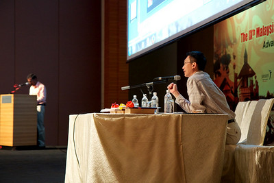 Dr Vijaya Sangkar spoke about Lymphoma in HIV patients. Dr Lau was the moderator.