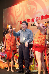 Dr Ng Soo Chin doing the toast. Gala Dinner for the Scientific Meeting - 30th April 2011.