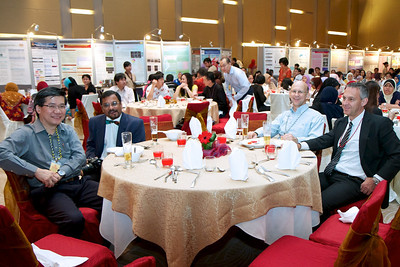 The VIP table. Gala Dinner for the Scientific Meeting - 30th April 2011.