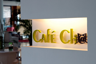 Cafe Chat - the mian cafe at the foyer of Pullman Kuching