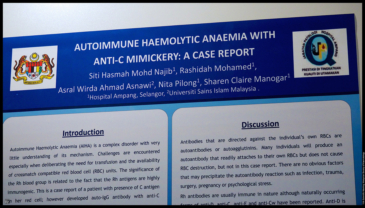C019  Malaysian Society of Haematology Scientific Meeting 2014