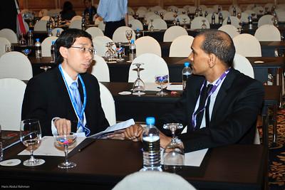 Dr Charles Chuah and Prof Veera Sekaran