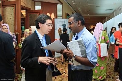 Dr Charles Chuah and Dr JV Sangkar