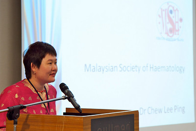 Dr Chew Lee Ping. The MaxFamily 2nd Patient Congress for People Living with Chronic Myeloid Leukaemia, 28 April 2011, Pullman Kuching.