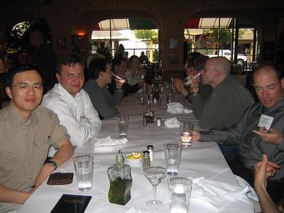 Mercury Dinner at Piccolino's