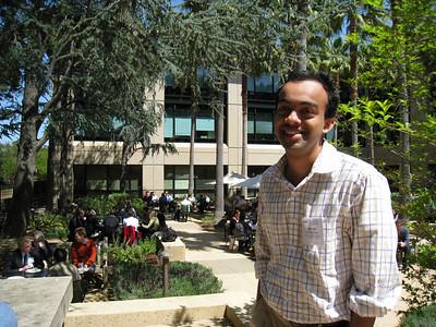 Nachiket at Stanford Alumni Center