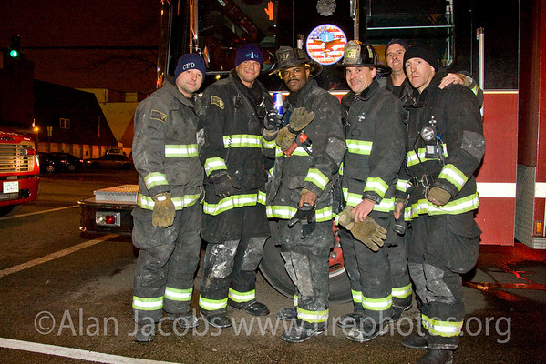 The Boys... Squad 1 after the fire