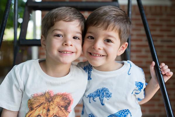 Vasilis and Stavros