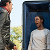 Sonequa Martin-Green as Sasha Williams, Jeffrey Dean Morgan as Negan - The Walking Dead _ Season 7, Episode 16 - Photo Credit: Gene Page/AMC