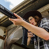 Chandler Riggs as Carl Grimes - The Walking Dead _ Season 7, Episode 7 - Photo Credit: Gene Page/AMC