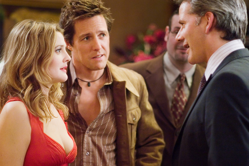 "(L-r) DREW BARRYMORE as Sophie Fisher, HUGH GRANT as Alex Fletcher and CAMPBELL SCOTT as Sloan in Warner Bros. Pictures' and Village Roadshow Pictures' romantic comedy ""Music and Lyrics,"" distributed by Warner Bros. Pictures.<br /> PHOTOGRAPHS TO BE USED SOLELY FOR ADVERTISING, PROMOTION, PUBLICITY OR REVIEWS OF THIS SPECIFIC MOTION PICTURE AND TO REMAIN THE PROPERTY OF THE STUDIO. NOT FOR SALE OR REDISTRIBUTION."