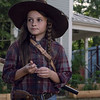 Cailey Fleming as Judith Grimes - The Walking Dead _ Season 9, Episode 6 - Photo Credit: Gene Page/AMC