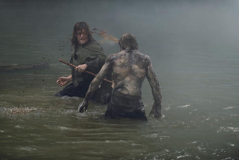 Norman Reedus as Daryl Dixon- The Walking Dead _ Season 9, Episode 6 - Photo Credit: Gene Page/AMC